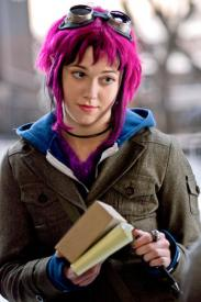 Mary Elizabeth Winstead as Ramona Flowers in Scott Pilgrim vs the World.