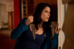 Neve Campbell returns as Sidney Prescott in Scream 4.