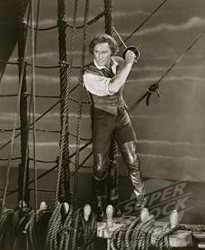Errol Flynn in The Sea Hawk.