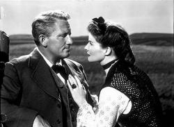 Spencer Tracy and Katharine Hepburn in Sea of Grass