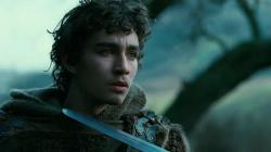 Robert Sheehan in Season of the Witch.