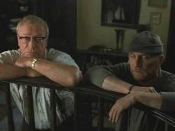 Michael Caine and Robert Duvall in Secondhand Lions.