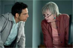 Ben Stiller and Shirley MacLaine in The Secret Life of Walter Mitty.