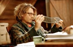 Johnny Depp in Secret Window.