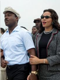 David Oyelowo and Carmen Ejogo in Selma.