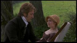 Alan Rickman and Kate Winslet in Sense & Sensibility.