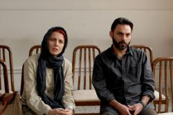 Leila Hatami and Peyman Moadi in A Separation.