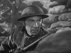Gary Cooper as Sergeant York.