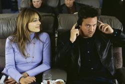 Elizabeth Hurley and Matthew Perry in Serving Sara