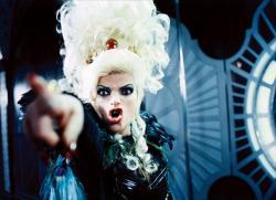 Nina Hagen as the Evil Queen in Seven Dwarfs.