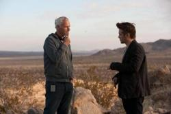 Martin McDonagh directing Colin Farrell in Seven Psycopaths