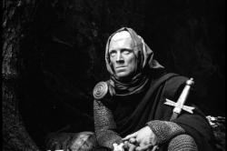 Max Von Sydow in Ingmar Bergrman's The Seventh Seal.