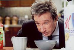 Tim Allen in The Shaggy Dog.