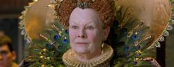 Judi Dench as Queen Elizabeth I in Shakespeare in Love.