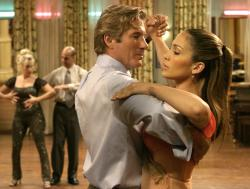 Richard Gere and Jennifer Lopez in Shall We Dance.