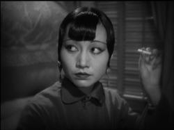 Anna May Wong in Shanghai Express.