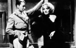 Clive Brook and Marlene Dietrich in Shanghai Express