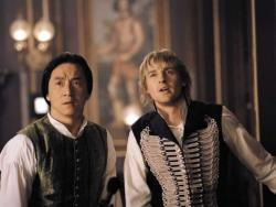 Jackie Chan and Owen Wilson in Shanghai Knights.