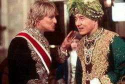Owen Wilson and Jackie Chan in Shanghai Knights.