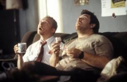 Simon Pegg and Nick Frost in Shaun of the Dead.