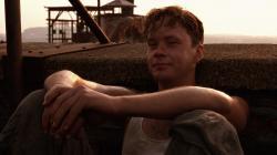 Tim Robbins in The Shawshank Redemption
