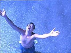 Tim Robbins in The Shawshank Redemption.
