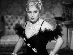 Mae West in She Done Him Wrong.