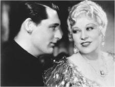 A young Cary Grant and Mae West in She Done Him Wrong.