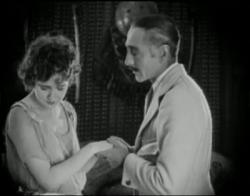 Agnes Ayres and Adolphe Menjou in The Sheik.