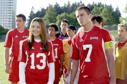 Amanda Bynes and Channing Tatum in She's the Man.