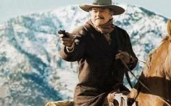 John Wayne living up to the title in The Shootist.