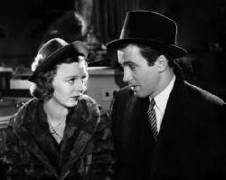Margaret Sullavan and James Stewart in The Shop Around the Corner