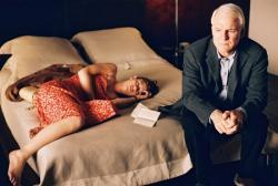 Claire Danes and Steve Martin in Shopgirl.