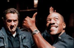 Robert De Niro and Eddie Murphy in Showtime.