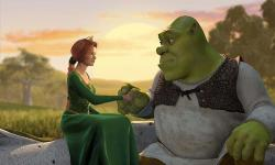 Cameron Diaz and Mike Myers voice Princess Fiona and Shrek.