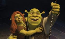 Fiona and Shrek in Shrek Forever After.