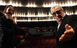 Keanu Reeves and Martin Scorsese in Side By Side.