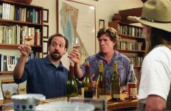 Paul Giamatti and Thomas Haden Churn in Sideways.