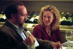 Paul Giamatti and Virginia Madsen in Sideways.