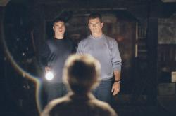 Joaquin Phoenix and Mel Gibson in Signs.