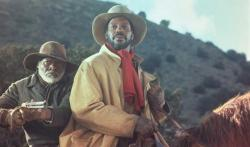 Joe Seneca and Danny Glover in Silverado.