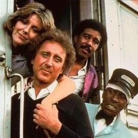 Jill Clayburgh, Gene Wilder, Richard Pryor and Scatman Crothers star in Silver Streak