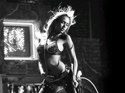 Jessica Alba in Sin City.