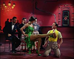 Cyd Charisse and Gene Kelly in Singin' in the Rain.