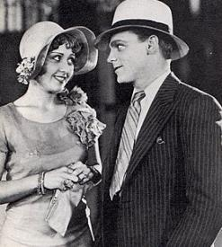 Joan Blondell and James Cagney in Sinner's Holiday.