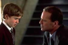 Haley Joel Osment sees dead people in The Sixth Sense.