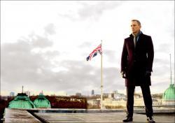 Daniel Craig is James Bond in Skyfall.