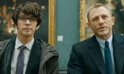 Ben Whishaw and Daniel Craig in Skyfall.