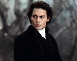 Johnny Depp in Sleepy Hollow.