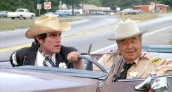 Mike Henry and Jackie Gleason in Smokey and the Bandit